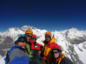 Украинские альпинисты заняли третье место на Чемпионате мира по альпинизму в высотном классе
