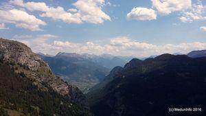 Новые скалолазные районы недалеко от города Бриансон (Франция)