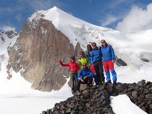Австрийская экспедиция в Кыргызстане
