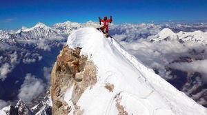 Манаслу: проблема достижения высшей точки восьмой по высоте горы мира