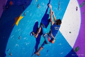 Финал Кубка Украины 2016 года по скалолазанию. Фото Станислава Яндульского