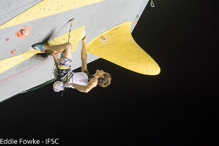 Домен Скофич (Domen Škofic) на этапе Кубка Мира в Бриансоне. 2016 год