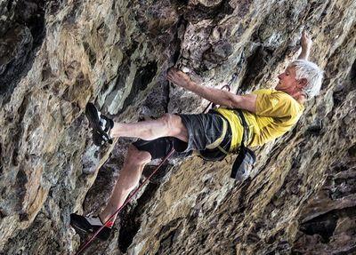 70-летний американский скалолаз Ли Шефтель установил новый мировой рекорд