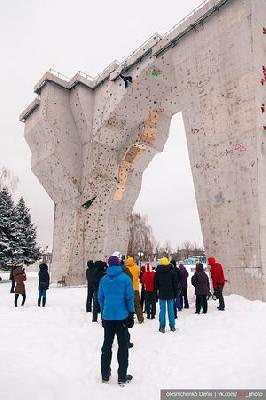 В Харькове состоялся открытый кубок Харьковской области по ледолазанию