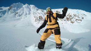 Райдер выжил в ужасной лавине на Аляске