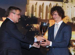 Адам Ондра - номинант в ТОП 10 лучших спортсменов Чехии и лучший спортсмен города Брно