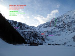 Hochbirghöhe: новый микстовый маршрут в Австрийском парке Высокий Тауэрн
