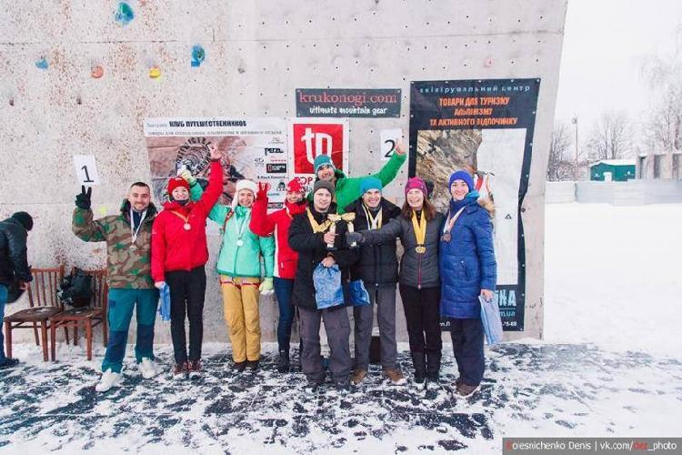Открытый Кубок Федерации альпинизма и скалолазания Харьковской области по ледолазанию.