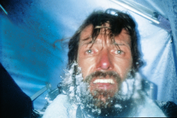 Селфи Каммерландера от мая 1991 года, в палатке после гибели друзей