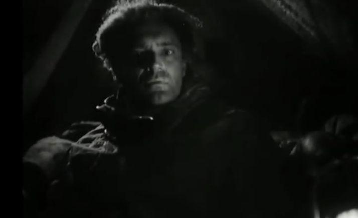 Кадр из фильма. Эртль - актер