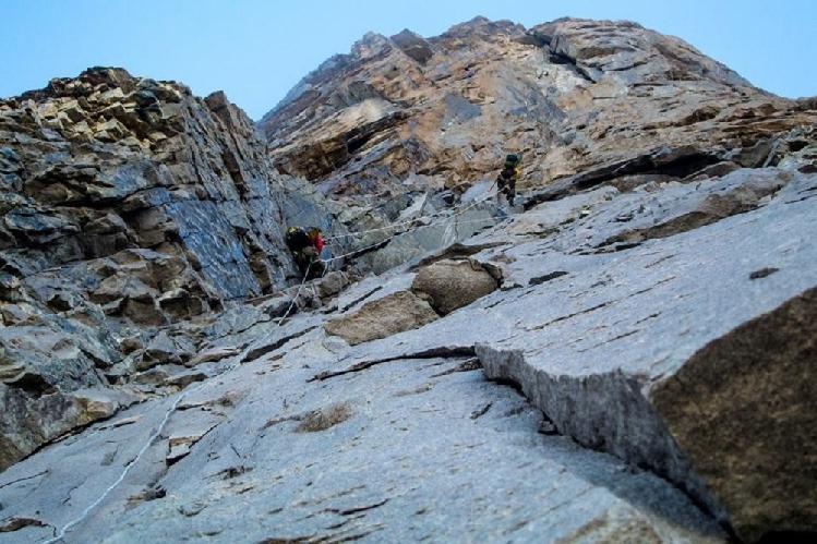 Альпинизм. Скалы. Фото из личного архива Бекара Паджишвили