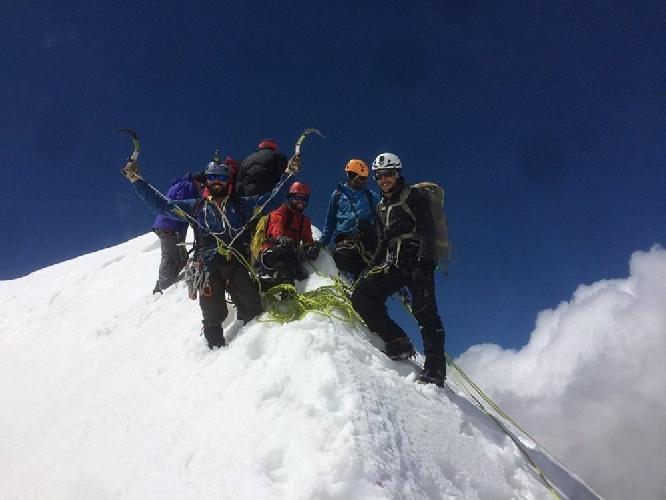 Альпинизм. Фото из личного архива Бекара Паджишвили