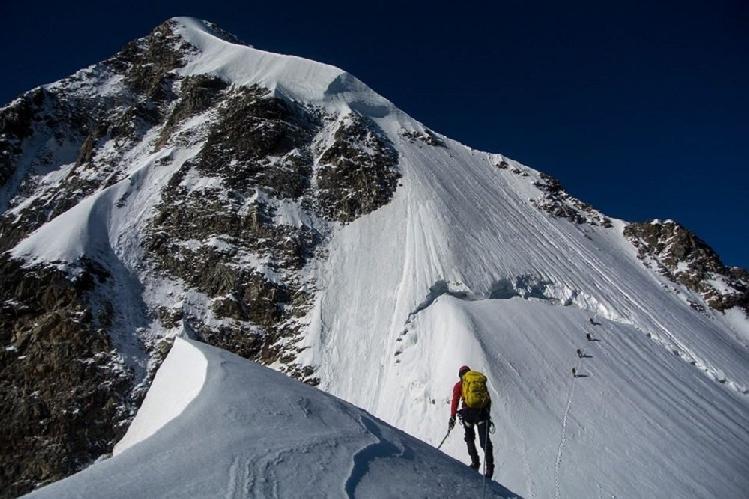 Альпинизм. В белое безмолвие. Фото из личного архива Бекара Паджишвили