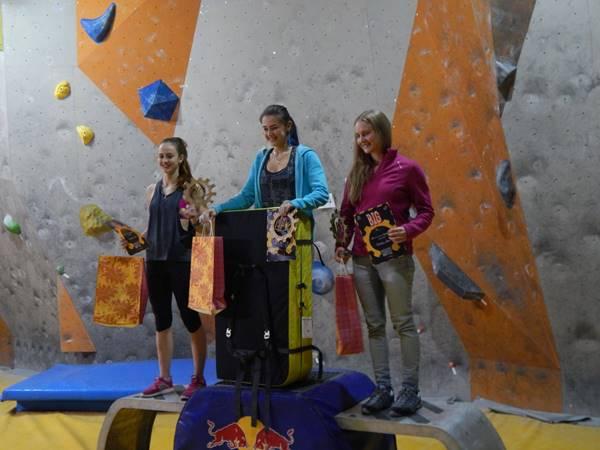 Девушки призеры