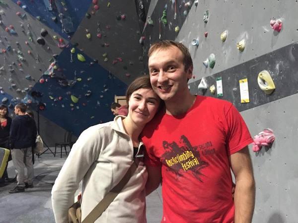 Улыбка призера соревнований :)  - Оксана и Юра Ковальчуки