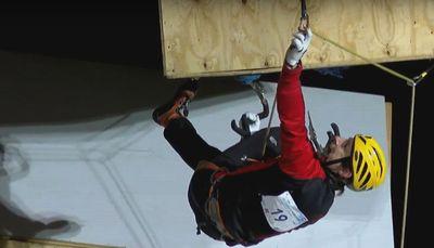 Харьковчанин Валентин Сипавин выиграл серебряную медаль на этапе Кубка Мира-2017 по ледолазанию!