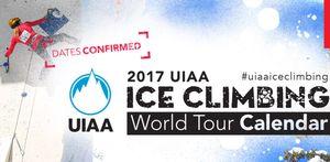 Календарь международных соревнований по ледолазанию на 2017 год