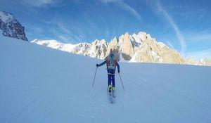 Новый микстовый маршрут на вершину горы Тур Ронде возле Шамони.