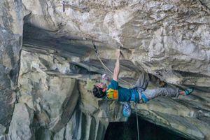 Штефано Гизольфи открывает новый, самый сложный маршрут в итальянском Арко: