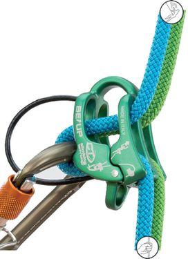 Обзор страховочного устройства BE-UP от Climbing Technology