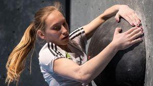 Новая звезда словенского скалолазания: Янья Гарнбрет