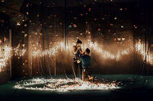 Скалолазная романтика: как сделать предложение любимой девушке