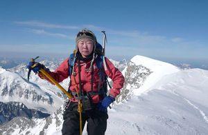 Альпинистка из Монголии стала первым гражданином своей страны, кто прошел программу