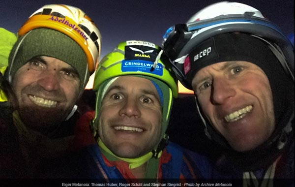 немец Томас Хубер (Thomas Huber) и швейцарцы Роджер Шали (Roger Schaeli) и Штефан Зигрист (Stephan Siegrist)