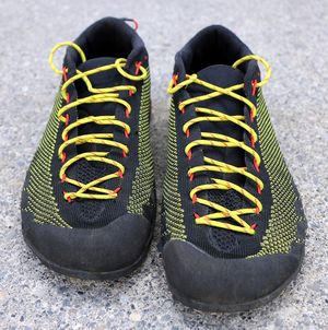 Обзор кроссовок для подходов La Sportiva TX2