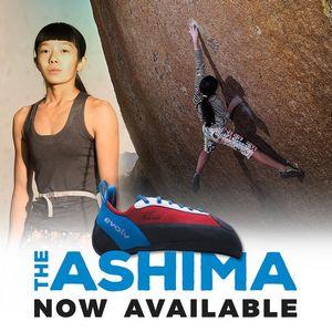Ашима Шираиши представила скалолазные туфли собственной разработки