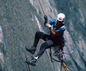 Маятник: как перебраться от трещины к трещие по скале без зацепов