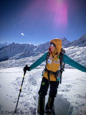 Женская зимняя экспедиция на Манслу: Элизабет Ривол сообщает о сложной погоде