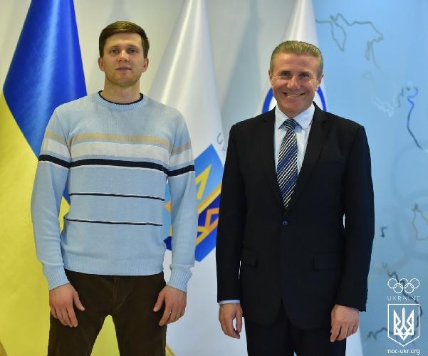 Даниил Болдырев и Сергей Бубка