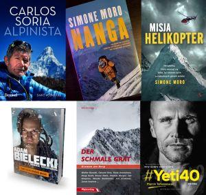 Анонс новых книг от выдающихся мировых альпинистов