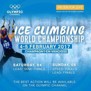 Украинские спортсмены в финале Чемпионата Мира по ледолазанию!