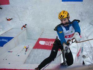 Валентин Сипавин занял шестое место на Чемпионате Мира по ледолазанию!