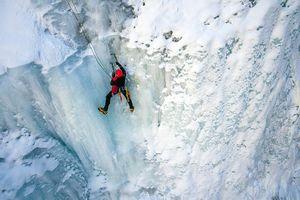Черногория: самый сложный ледопад каньона Tара.