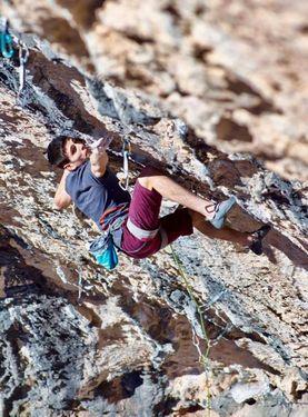 Петрек Схаб проходит свою вторую сложность 9а+ в карьере: маршрут