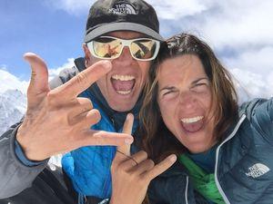 Симоне Моро и Тамара Лунгер готовят секретную экспедицию в Непал