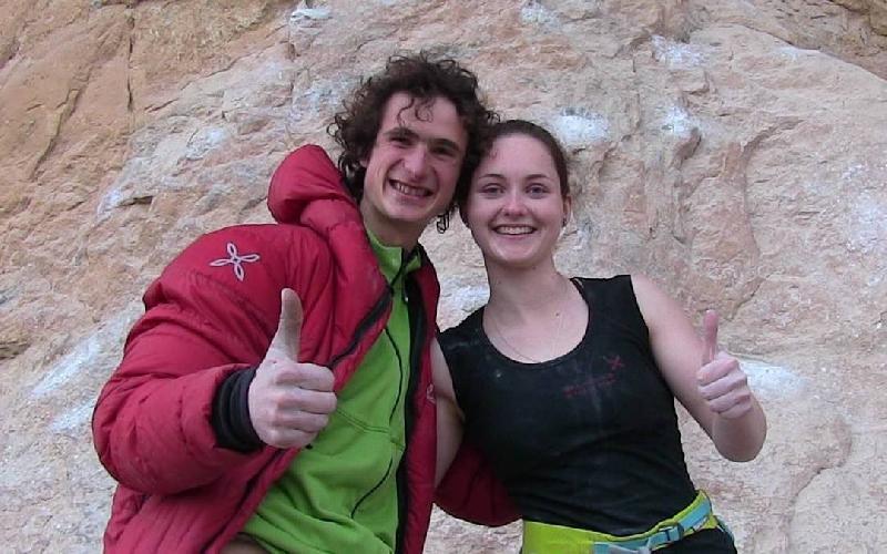 Адам Ондра (Adam Ondra) и Ива Вежмолова (Iva Vejmolová)