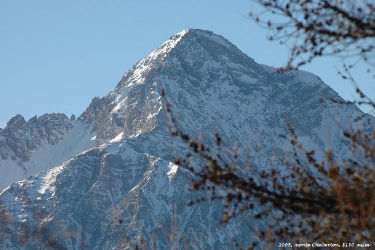гора Шабертон (Mont Chaberton)