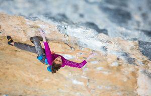 Итальянка Лаура Рогора становится пятой в мире женщиной, которая прошла скалолазную сложность 9а два и более раз!