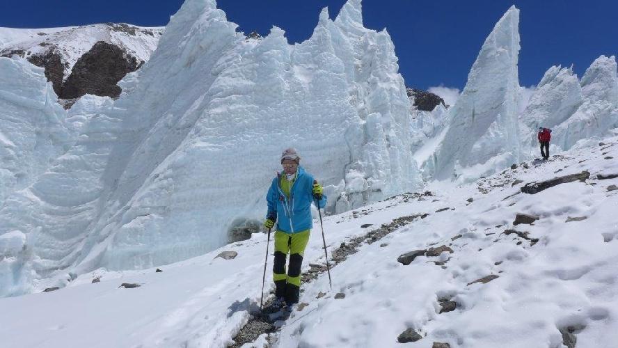 Энди Хольцер (Andy Holzer) и Клеменс Бихлер (Klemens Bichler) в экспедиции на Эверест в 2015