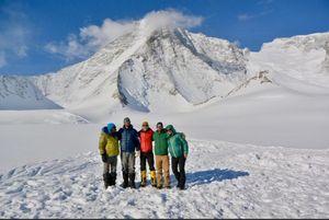 Альпинисты установили ряд рекордов на Маунт Тайри, второй вершине Антарктиды