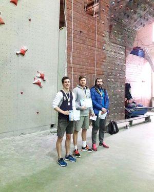 В Одессе прошли первые в сезоне 2017 года соревнования по скалолазанию с дисциплине скорость