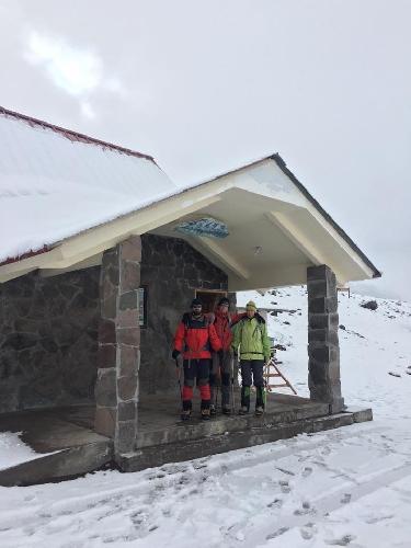 Группа Валентина Сипавина взошла на очередную вершину Южно-Американского континента и Эквадора - Чимборасо (6310м)!