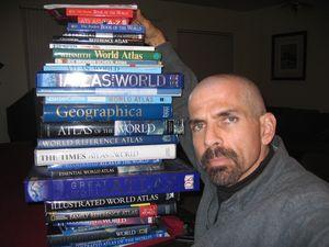 Подверждене своей гипотезы Джон нашел в этих атласах и книгах