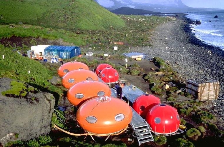 Мобильная база геологов-вулканологов