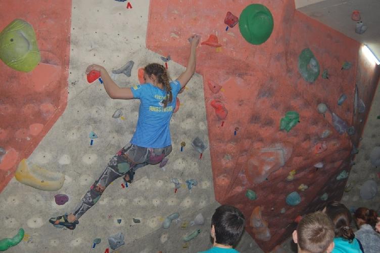 Чемпионат Днепропетровской области по скалолазанию среди взрослых, юниоров и юношей, в виде — боулдеринг.