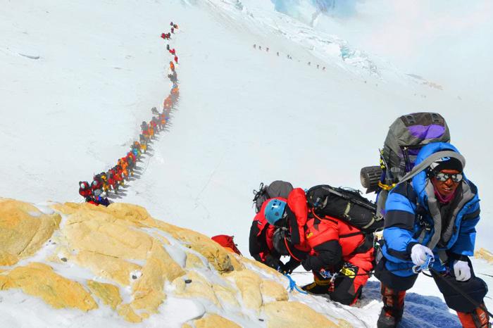 Траффик на Эвересте. сезон 2012 года